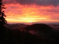 Auringonlasku Kolilla
